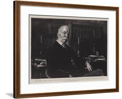 Sir John Furley, One of the Earliest Organisers of the Red Cross Movement, Recently Knighted-Sydney Prior Hall-Framed Giclee Print