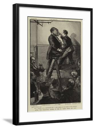 After the Inaugural Supper at the St John's Wood Art Club-Sydney Prior Hall-Framed Giclee Print