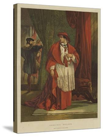 Cardinal Wolsey-Sir John Gilbert-Stretched Canvas Print