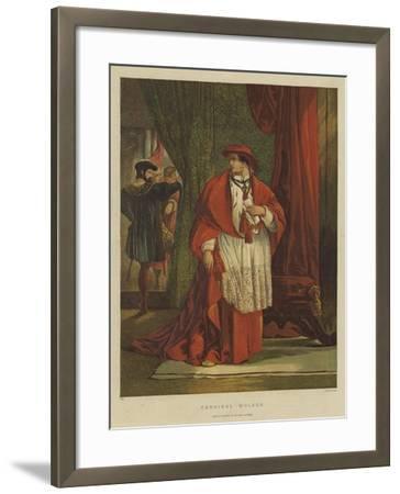 Cardinal Wolsey-Sir John Gilbert-Framed Giclee Print