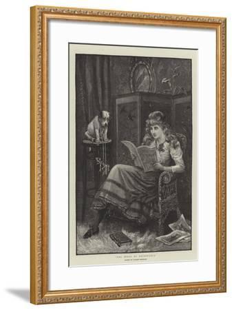 The Stool of Repentance-Stanley Berkeley-Framed Giclee Print