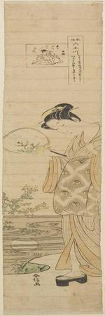 Jewel River of Noji, Mid 18th Century-Suzuki Harunobu-Framed Giclee Print