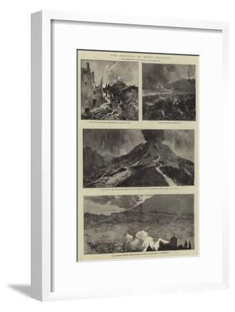 The Eruption of Mount Vesuvius-Sydney Prior Hall-Framed Giclee Print