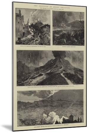 The Eruption of Mount Vesuvius-Sydney Prior Hall-Mounted Giclee Print