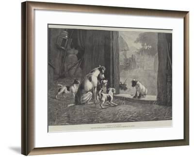 A Disgrace to His Family-Stanley Berkeley-Framed Giclee Print