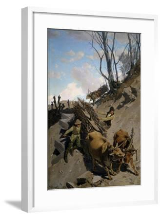 Difficult Step, in 1870-Stefano Bruzzi-Framed Giclee Print