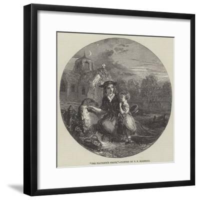 The Playmate's Grave-Thomas Falcon Marshall-Framed Giclee Print