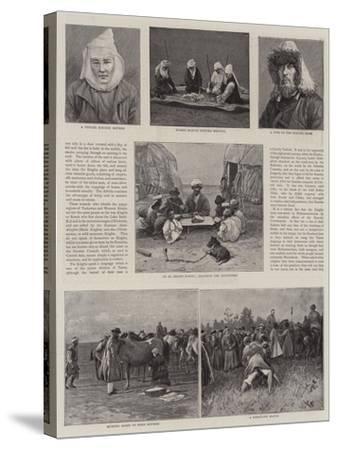 A Journey across Siberia-Thomas Allen-Stretched Canvas Print