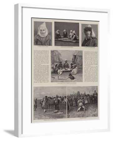 A Journey across Siberia-Thomas Allen-Framed Giclee Print