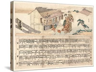 Tennogu No Chozuba-Teisai Hokuba-Stretched Canvas Print
