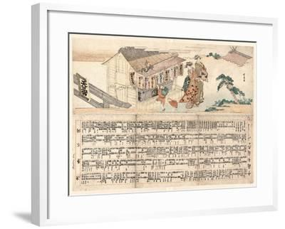 Tennogu No Chozuba-Teisai Hokuba-Framed Giclee Print