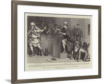 The Wasps of Aristophanes at King's College-Sydney Prior Hall-Framed Giclee Print