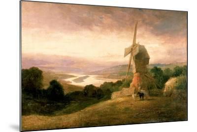 The Tyne from Windmill Hills, Gateshead, C.1818-Thomas Miles Richardson-Mounted Giclee Print