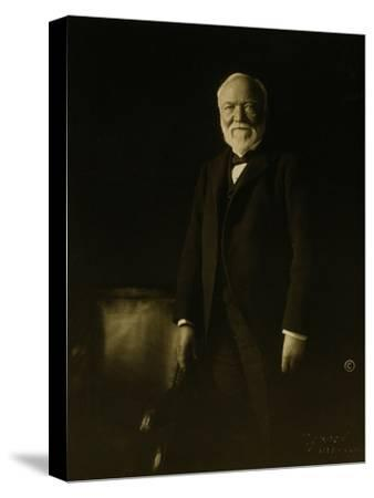 Andrew Carnegie-Theodore C. Marceau-Stretched Canvas Print