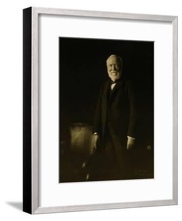 Andrew Carnegie-Theodore C. Marceau-Framed Giclee Print