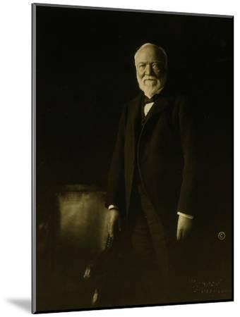 Andrew Carnegie-Theodore C. Marceau-Mounted Giclee Print
