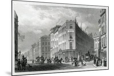 Piccadilly, from Coventry Street, 1830-Thomas Hosmer Shepherd-Mounted Giclee Print