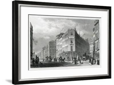 Piccadilly, from Coventry Street, 1830-Thomas Hosmer Shepherd-Framed Giclee Print