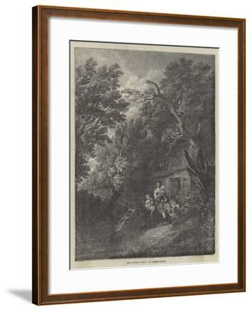 The Cottage Door-Thomas Gainsborough-Framed Giclee Print