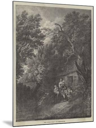 The Cottage Door-Thomas Gainsborough-Mounted Giclee Print