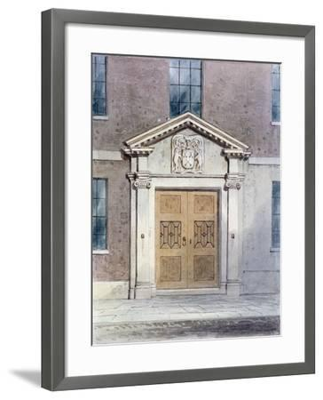 The Entrance to the Cutlers Old Hall, 1850-Thomas Hosmer Shepherd-Framed Giclee Print