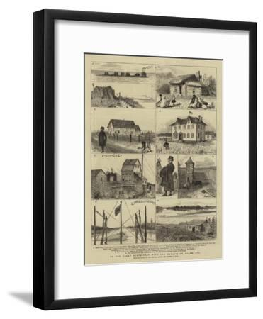 To the Great North-West with the Marquis of Lorne, XVI-Sydney Prior Hall-Framed Giclee Print