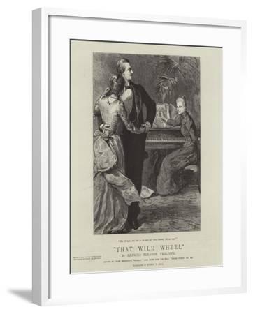 That Wild Wheel-Sydney Prior Hall-Framed Giclee Print