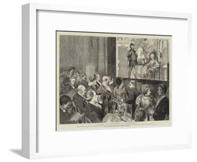 A Pair of Spectacles at Sandringham-Sydney Prior Hall-Framed Giclee Print