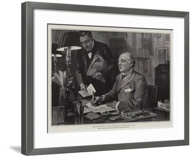 Rear-Admiral Lord Charles Beresford-Sydney Prior Hall-Framed Giclee Print