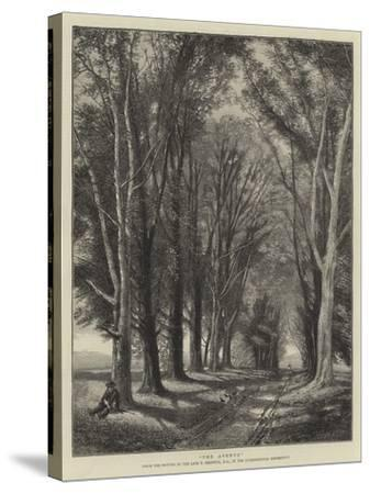 The Avenue-Thomas Creswick-Stretched Canvas Print