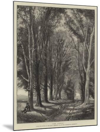 The Avenue-Thomas Creswick-Mounted Giclee Print