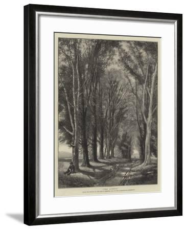 The Avenue-Thomas Creswick-Framed Giclee Print