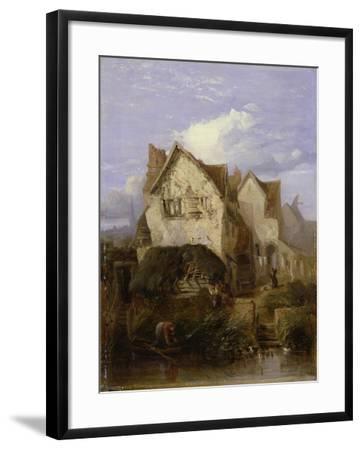 A View Near Norwich-Thomas Lound-Framed Giclee Print