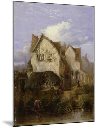 A View Near Norwich-Thomas Lound-Mounted Giclee Print