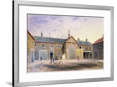 The City Green Yard, 1855-Thomas Hosmer Shepherd-Framed Giclee Print