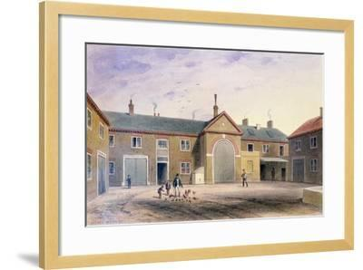 The City Green Yard, 1855-Thomas Hosmer Shepherd-Framed Giclee Print