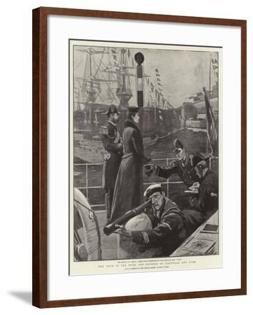 The Tour of the Duke and Duchess of Cornwall and York-Sydney Prior Hall-Framed Giclee Print
