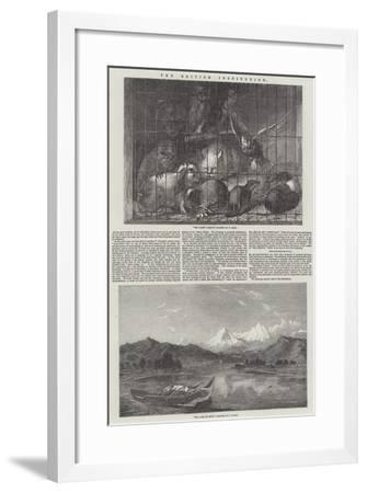 The British Institution-Thomas Earl-Framed Giclee Print