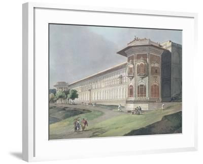 Cotsea Bhaug on the River Jumna at Delhi-Thomas & William Daniell-Framed Giclee Print