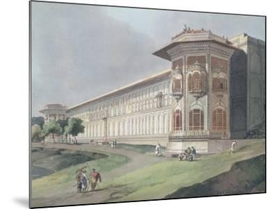 Cotsea Bhaug on the River Jumna at Delhi-Thomas & William Daniell-Mounted Giclee Print