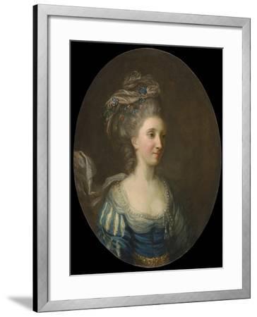 Portrait of a Lady-Thomas Hickey-Framed Giclee Print