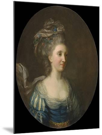 Portrait of a Lady-Thomas Hickey-Mounted Giclee Print