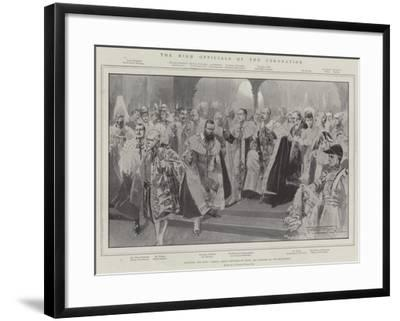The High Officials of the Coronation-Thomas Walter Wilson-Framed Giclee Print