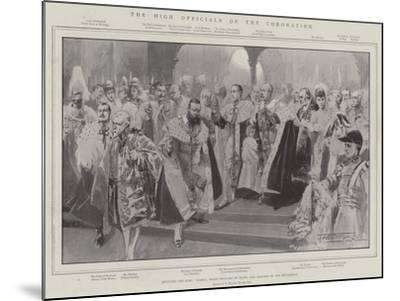 The High Officials of the Coronation-Thomas Walter Wilson-Mounted Giclee Print