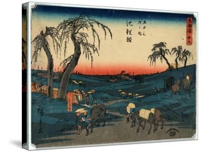Chiryu-Utagawa Hiroshige-Stretched Canvas Print