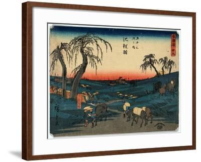 Chiryu-Utagawa Hiroshige-Framed Giclee Print