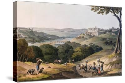 City of Coimbra-Thomas Staunton St. Clair-Stretched Canvas Print