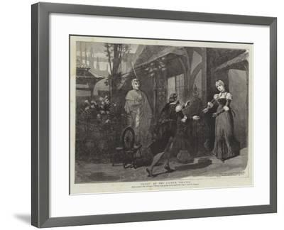 Faust at the Lyceum Theatre-Thomas Walter Wilson-Framed Giclee Print