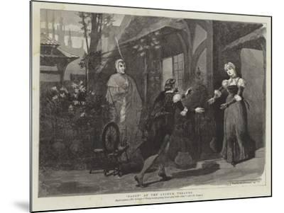 Faust at the Lyceum Theatre-Thomas Walter Wilson-Mounted Giclee Print