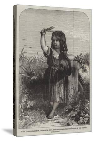 The Little Scarecrow, from the Exhibition of the British Institution-Thomas-Francis Dicksee-Stretched Canvas Print